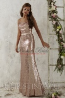 2016 Bridesmaid Dress by Christina Wu - 22706