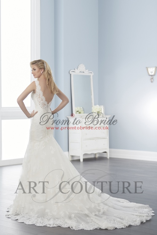 On Sale Art Couture Dress - AC522wedding Dress from PromtoBride.co.uk